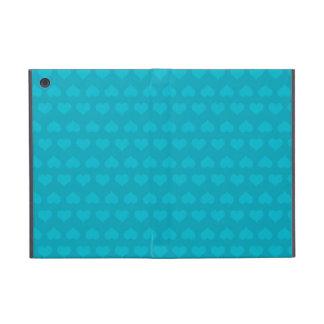 Heartlines-Turquoise Blue iPad Mini Case