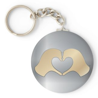 HeartMark Heart Hand (TM) keychain