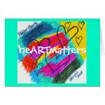 heARTmatters Greeting Card