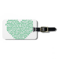 heartribbon.jpg luggage tag