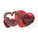 Hearts072509 Customized Photo Card