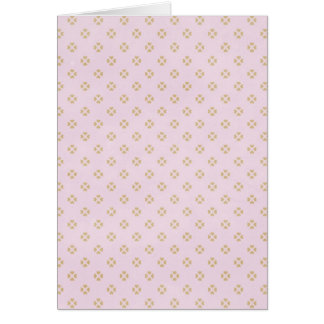 hearts09-pink HEART SHAPES LIGHT PINK SQUARE PATTE Greeting Card