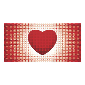 Hearts1314 red white heart shapes love sweetheart card