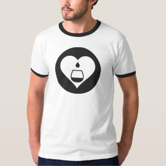 Hearts2Tails Black Graphic T-Shirt