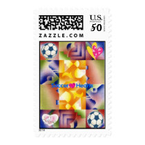 Hearts4soccer Postage