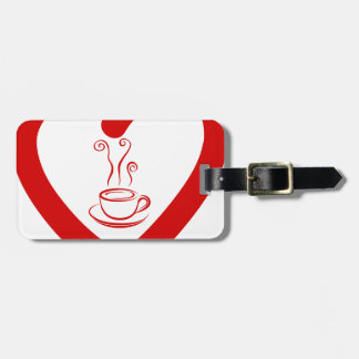 hearts8 luggage tag