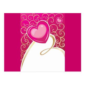 hearts (10) postcard