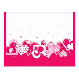 hearts (2) postcard