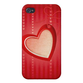 Hearts 4G iPhone 4/4S Case