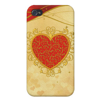 Hearts 4G iPhone 4 Covers