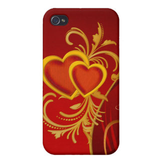 Hearts 4G iPhone 4/4S Covers