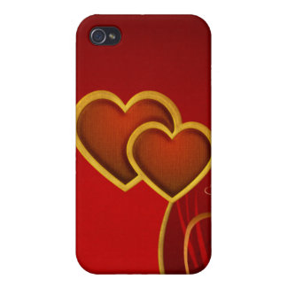 Hearts 4G iPhone 4 Cover