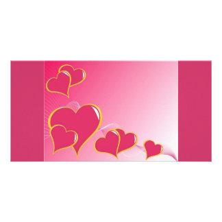 hearts (5) card