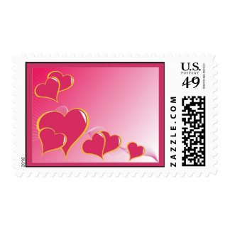hearts (5) stamps