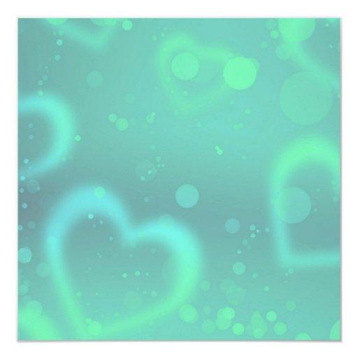 hearts-7 invitación 13,3 cm x 13,3cm