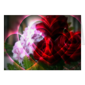 Hearts A Fire Greeting Card