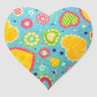 Hearts A Flutter Stickers