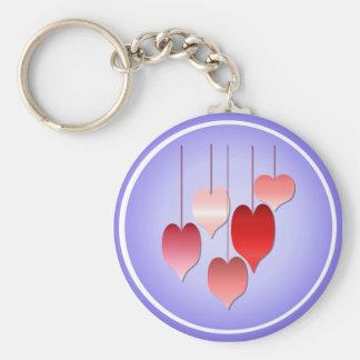 Hearts A Plenty Keychain
