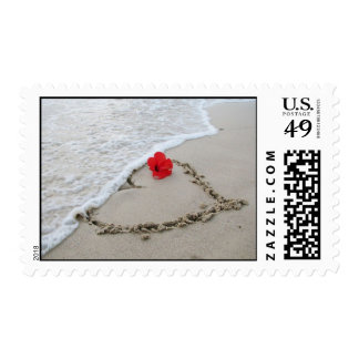 Hearts a shore Stamp