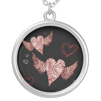 Hearts Above Me Necklace