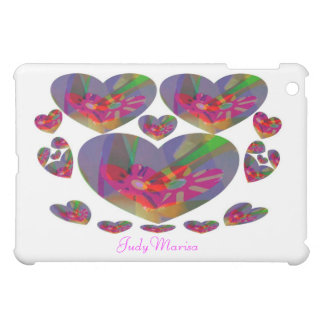 Hearts Abstract Case For The iPad Mini