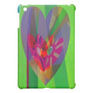 Hearts Abstract iPad Mini Cases