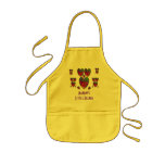 Hearts Abstract-MaMaw's Little Helper Kids' Apron