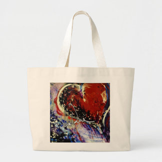 Hearts Adrift Large Tote Bag