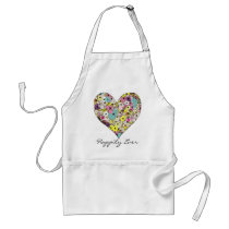 Hearts Adult Apron
