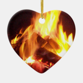 Hearts Afire Christmas Ornament