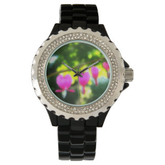 Hearts Afire Photography Pink Valentine Watch