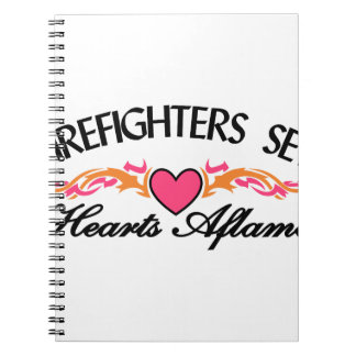Hearts Aflame Notebook