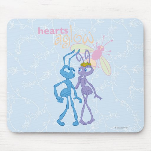Hearts Aglow Mouse Pad