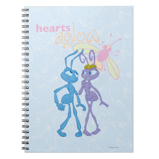 Hearts Aglow Notebook