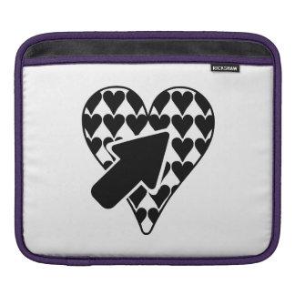 Hearts and Arrow iPad Sleeve