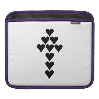 Hearts and Arrow Sleeves For iPads