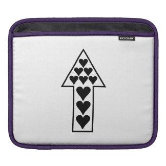 Hearts and Arrow Sleeve For iPads
