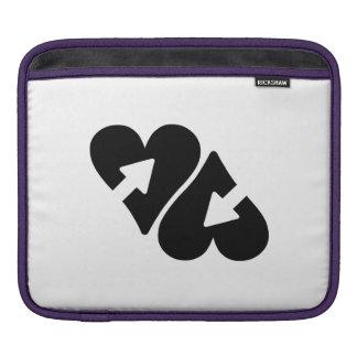 Hearts and Arrows iPad Sleeves