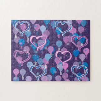 Hearts and Balloons Puzzle