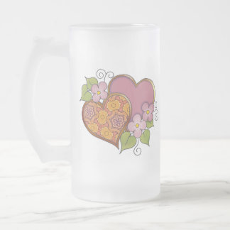 Hearts and Blossoms - Bronse Delight Coffee Mug