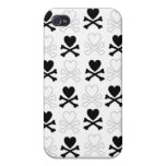 Hearts and Bones  iPhone 4 Cover