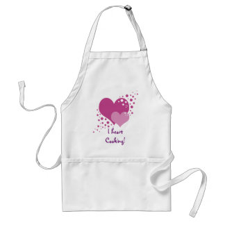 Hearts And Bubbles Apron