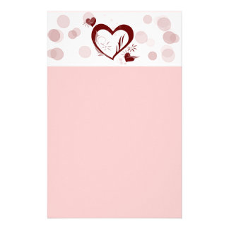 Hearts and Bubbles Stationery