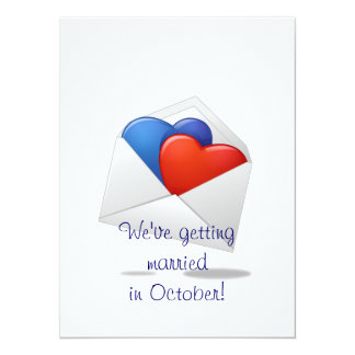 Hearts and Cupids Card