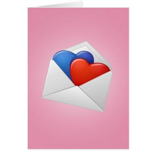 Hearts and Cupids Greeting Card