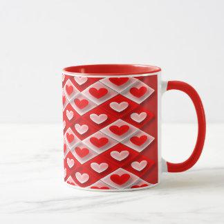 Hearts and Diamonds Mug