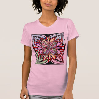 Hearts and Flower Fractal Shirt