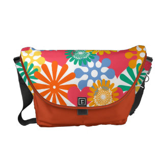 Hearts and Flowers/Colorful Messenger Bags