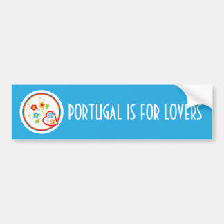 Hearts and flowers for Valentines Bumper Sticker