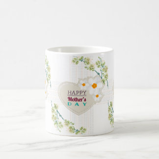 Hearts and Flowers Mother's Day Mug